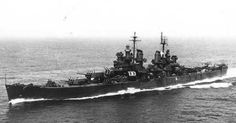 USS Baltimore (CA 68); Heavy Cruiser; Commissioned 15 Apr 1943