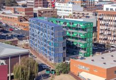Property developer Propertuity partnered recently with New York-based architecture firm and upcycling experts LOT-EK in creating South Africa's first large-scale residential container development, Drivelines...