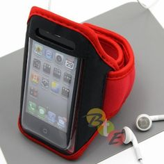 Apple iPhone 4 Adjustable Wrist / Armband Sports Case Cover - Red by CaseMaster, http://www.amazon.com/gp/product/B004O9IN9S/ref=cm_sw_r_pi_alp_gT3Sqb0N84PYD
