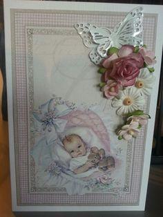 Scrappehjørnet dåpskort