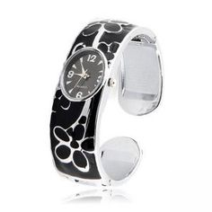 Mode Armbandförmig Damenuhr mit Muster