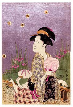 Japanese Fine Art Reproduction Woman Portrait by OrientalArtPrints