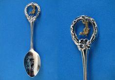 Arizona State Souvenir Collector Spoon Collectible Roadrunner Charm