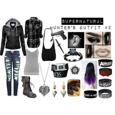 Supernatural: Hunter's Outfit #2 by wretchedanddivine22 on Polyvore