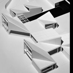 carlos ferrater house for a photographer Concept Models Architecture, Architecture Model Making, Roof Architecture, Architecture Details, Architecture Diagrams, Chinese Architecture, Architecture Portfolio, Planer Layout, Steel Structure Buildings