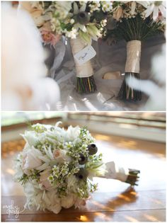 Natural Australian bridal bouquet with gumnuts