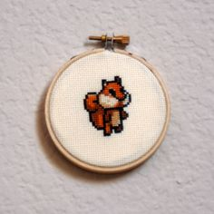 Irresistibly cute free cross-stitch pattern.