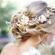 Wedding hair updos 2018 - # check more at wedding. - Wedding hair updos 2018 – # check more at wedding. Best Wedding Hairstyles, Vintage Hairstyles, Summer Hairstyles, Ladies Hairstyles, Fashion Hairstyles, Hairstyles 2016, Trendy Hairstyles, Bridal Hairstyle Traditional, Wedding Beauty