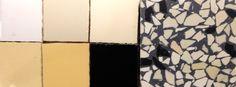 granito tegels vloer | gele wandtegels | jaren 30 woning | verkrijgbaar via mozaiek utrecht monqiue van waes