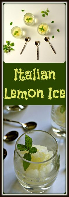 In only 5 easy steps, you can make some refreshing Homemade Italian Lemon Ice. No ice cream machine required, just grab a fork and let's get started.