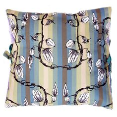 See textiles by Craig Fellows at this years' Harley Art Market, November 2014 at The Harley Gallery, Welbeck, Nottinghamshire, Small Cushions, Hand Illustration, Unusual Gifts, Natural Forms, Christmas Art, Art Market, Screen Printing, Vines, Floral Prints