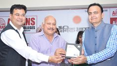Dr. M.S. Ghuge, Regional Officer, AICTE was the Guest of Honour in Aryans Scholarship Mela organised today at PHD Chamber of Commerce and Industry, Sec. 31-B, Chandigarh