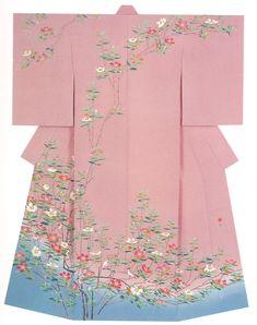 Kaga-Yuzen Kimono - Kaho Hyakkan