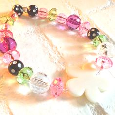 Girls love sparkles. Easy to make necklaces for vday.