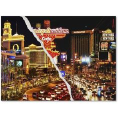 Trademark Fine Art The Strip Canvas Art by Philippe Hugonnard, Size: 18 x 24, Multicolor