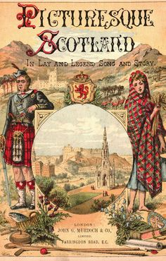 """British Library digitised image from page 7 of """"Picturesque Scotland, its romantic scenes and historical associations, described in lay and legend, song and story . Scotland History, Famous Castles, Romantic Scenes, British Library, Scottish Clans, Vintage Travel Posters, British Isles, Vintage Books, Travel Posters"""