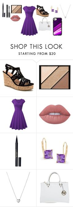 """Becca Style"" by bunny05 on Polyvore featuring beauty, Elizabeth Arden, Lime Crime, Chanel, Stila, Ross-Simons, Links of London, Michael Kors and Casetify"