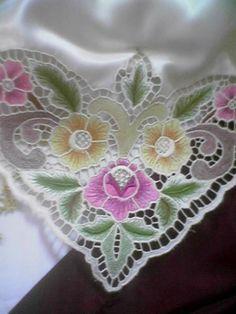 nurten kuşçu cutwork embroidery tablecloth - embroidery - nakış - delik işi nakış - beyaz iş nakış - Google'da Ara
