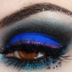 Exquisitely+gorgeous+Toxic+Tears+look+by+@Verónica Sartori+M+using+#Sugarpill+Royal+Sugar,+Bulletproof+and+Darling+eyeshadows+with+Precious+(top)+and+Firefly+(bottom)+eyelashes.+So+flawless!
