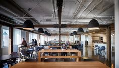 Cafeteria and work lounge from Textura Offices – Chicago