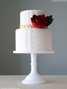 White Rose by Charm City Cakes West