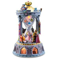 Disney Sleeping Beauty Hourglass Snowglobe