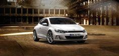 Volkswagen Scirocco blanco