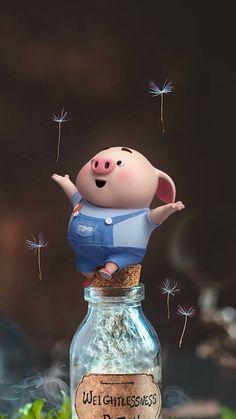Cute Pig Wallpaper - Best of Wallpapers for Andriod and ios Pig Wallpaper, Disney Wallpaper, Flower Wallpaper, Iphone Wallpaper, Little Pigs, This Little Piggy, Rog Fairy Tail, Tableau Pop Art, Cute Piglets