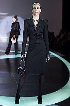 Valentino Fall 2001 Ready-to-Wear Fashion Show - Hannelore Knuts, Valentino Garavani
