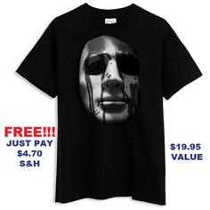 Dead End  Cameron Crow Mask  Slasher Serial by WestCoastTshirts