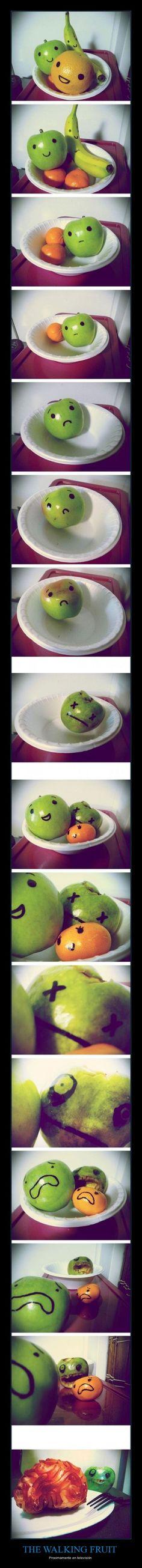 The walking fruit