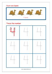Number Tracing - Tracing Numbers - Number Tracing Worksheets - Tracing Numbers 1 to 10 - Writing Numbers 1 to 10 Teaching Numbers, Numbers Kindergarten, Numbers Preschool, Kindergarten Math Worksheets, Writing Numbers, Preschool Printables, Preschool Math, Writing Practice Worksheets, Math Workbook