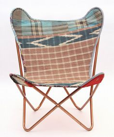 This Brown Butterfly Cooper Kantha Chair is perfect! #zulilyfinds