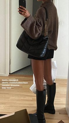 Looks Style, Looks Cool, Fall Winter Outfits, Autumn Winter Fashion, Winter Fashion Outfits, Elegantes Business Outfit, Mode Instagram, Adidas Instagram, Jugend Mode Outfits
