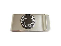 Camera Dial Money Clip
