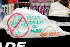 Mean Green Go Away! University of Tennessee Homecoming 2015. Go Vols!
