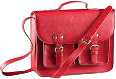 Bag- hm.com $24.95 It's a MUCH cheaper version of the red bag that Clara Oswin Oswald had from Doctor Who,I have the bag and it's my favorite bag ever! I get so many compliments and it goes with so many different things!