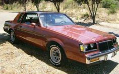 1986 Buick Regal T-type 3.8 SFI TURBO INTERCOOLED IN Rosewood Metallic with T-top and G80 Posi-Trac rear differential #cleckleymotorworks