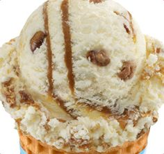 This used to be my favorite ice cream until I read its ingredients.  Baskin-Robbins | Pralines 'n Cream Ice Cream