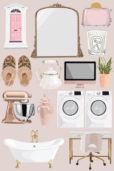 Tumblr Stickers, Cute Stickers, Home Decor Instagram, Art Bag, Instagram Highlight Icons, Blog Design, Photomontage, Pattern Wallpaper, Digital Illustration