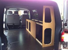 Travel Camper, Vw Camper, Camper Trailers, Day Van Conversion, Camper Van Conversion Diy, T4 Camper Interior Ideas, Campervan Interior, Vauxhall Vivaro Camper, Transit Connect Camper