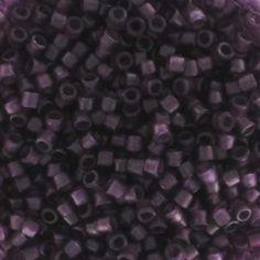 Miyuki Delicas 11/0 DB0782 - Dyed Semi Mat Tr Plum
