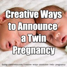 Creative Ways to Announce a Twin Pregnancy (with Real Examples) Twin Baby Announcements, Baby Announcement Grandparents, Pregnancy Announcement To Parents, Cute Pregnancy Announcement, Baby Reveal Ideas To Parents, Twin Humor, Pregnancy Humor, Early Pregnancy, Creative