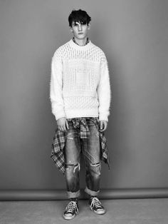 TOPMAN x James Long - The TOPMAN x James Long collaboration collection features a slew of the designer's eclectic knitwear selects. This menswear line takes inspir...