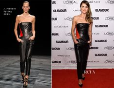 Keri Russell In J Mendel - Glamour Women Of The Year Awards