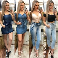 Sexy Outfits, Chic Outfits, Pretty Outfits, Spring Outfits, Fashion Outfits, Kinds Of Clothes, Clothes For Women, Sexy Teens, Sexy Skirt