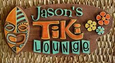 Pix of New Lasered Tiki Sign Items! -- Tiki Central