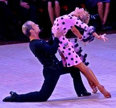Riccardo and Yulia Team Match rumba