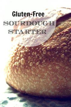 Gluten Free Sourdough Starter by Whole New Mom.  #glutenfree #glutenfreebread #sourdough