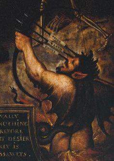 allegory of man british school XVI century  dettaglio